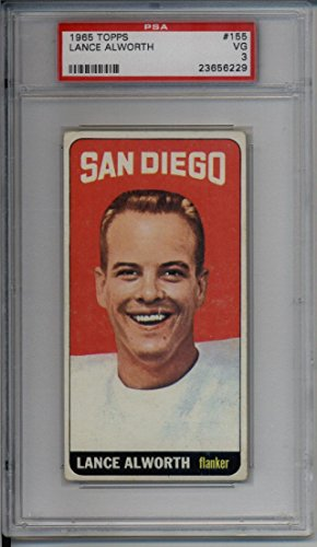 1965 Topps Football Card #155 Lance Alworth