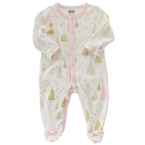 Mud Pie SPARKLIEST SEASON SLEEPER, 6-9 months