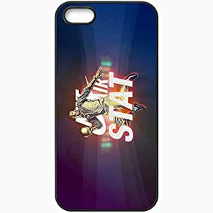 Personalized iPhone 5 5S Cell phone Case/Cover Skin 14667 STAT by Glenn8Friedrice Black by lolosakes