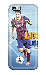 Case For Iphone 6 4.7 Inch Cover Skin : Premium High Quality Lionel 0O4qJ9WsWA8 Messi Barcelona 2014