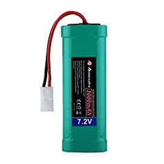 Powerextra 7.2V 3000mAh High Power Rechargeable NiMH Battery Pack Low-self Discharge with KET Connectors for RC Cars, RC Truck, RC Airplane, RC Helicopter, RC Boat About Powerextra :  Powerextra products are made with the highest quality mate...