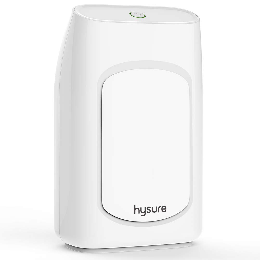 hysure Air Dehumidifier for Home 2000ml Dehumidifier Compact and Portable, Electric Dehumidifiers for Bedroom, Condensation, Damp, Mould, Bathroom, Large Dehumidifier Moisture Absorber in Office, Laundry, Basement