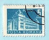 Used Romania Postage Stamp %281967%29 %2