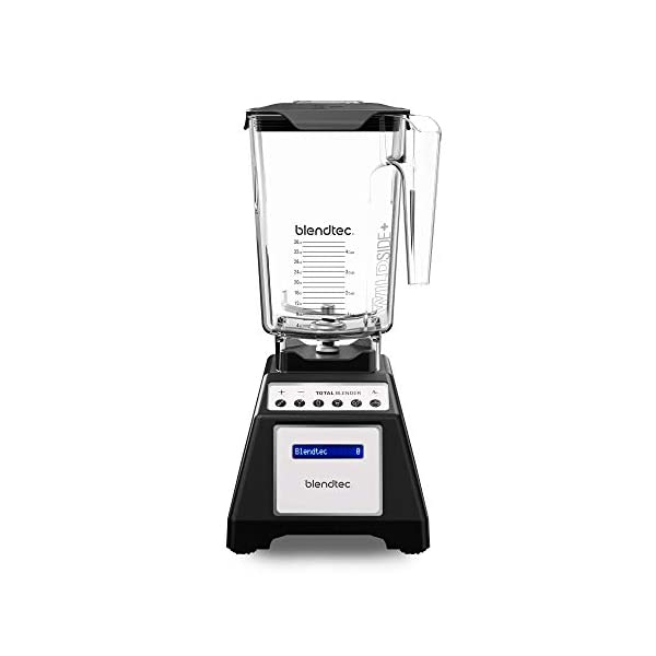 Blendtec Total Classic Original Blender - WildSide plus Jar (90 oz) - Professional-Grade Power - 6 Pre-programmed Cycles… 1