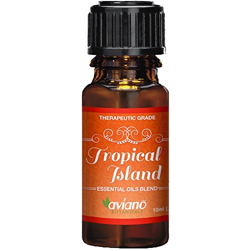 Tropical Island Essential Oil Synergy Blend - 100% Pure Essential (Tropical Scent)
