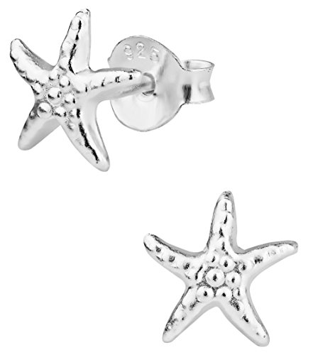 Hypoallergenic Sterling Silver Little Starfish Stud for sale  Delivered anywhere in USA