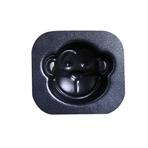 Kylin Express Lovely Cartoon Monkey Cake Mould,Simply Nonstick Bakeware,5.25.9 cm