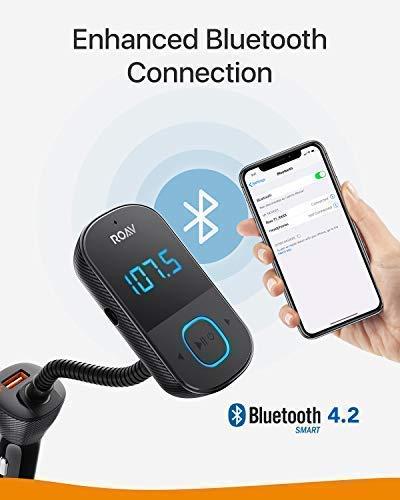 anker roav smartcharge t1 bluetooth fm transmitter for. Black Bedroom Furniture Sets. Home Design Ideas