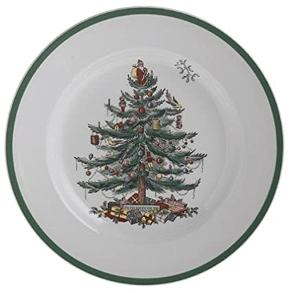 Spode Christmas Tree Dinner Plate - Amazon.com Spode Christmas Tree Dinner Plate: Plates