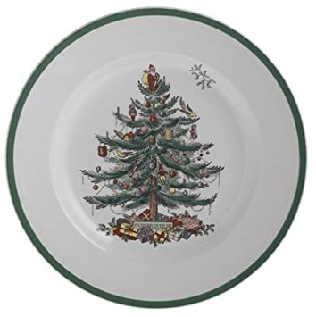 Image Unavailable. Image not available for. Color: Spode Christmas Tree  Dinner Plate - Amazon.com Spode Christmas Tree Dinner Plate: Plates
