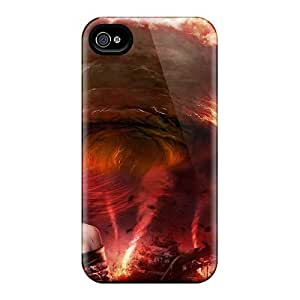 First-class Case Cover For Iphone 4/4s Dual Protection Cover Turbulent by runtopwell