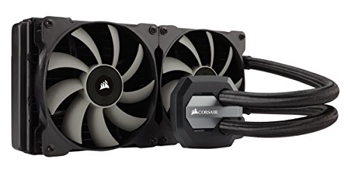 Corsair Hydro Series H115i Extreme Performance Liquid CPU Cooler , Black