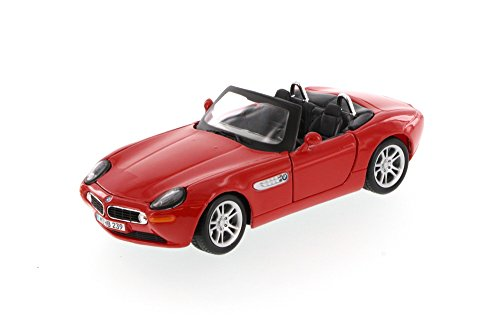 BMW Z8 Convertible, Red - Showcasts 34996 - 1/24 Scale Diecast Model Toy Car (Bmw Convertible Toy Car)