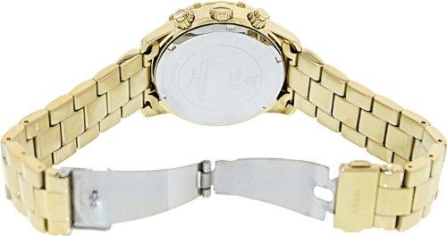 GUESS Women's U0016L2 Dazzling Sport Gold-Tone Chronograph Watch