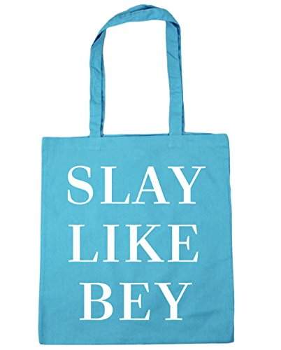 Blue x38cm litres Surf HippoWarehouse Beach Slay Tote Shopping Bey Like Bag 10 42cm Gym PH71Oq