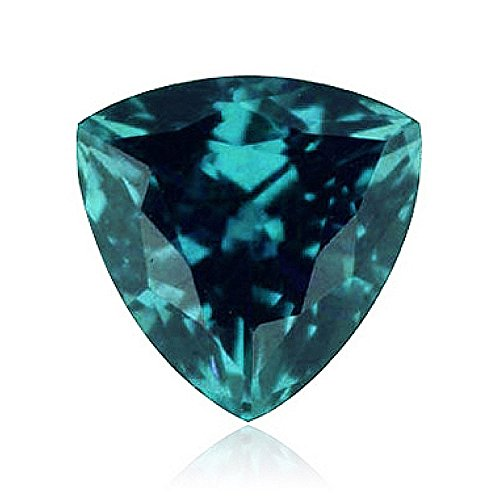 0.23-0.32 Cts of 4x4x4 mm AAA Trillion ( 1 pc ) Loose Russian Lab Created Alexandrite (Alexandrite Gemstone Gems)