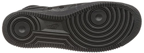 Black Black SF in Uomo Force Tessuto 917753 1 black Wmns Mid Bianco Pelle e Air Scarpe 101 Nike xBqa8tZZ