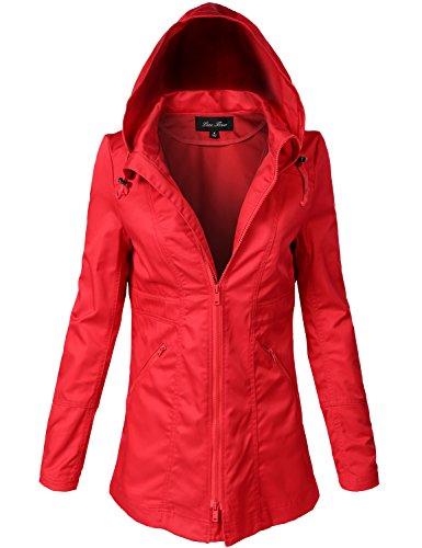 Cinched Zipper Jacket - 1