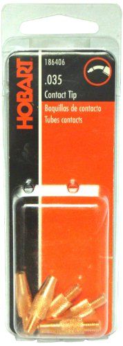 Hobart 186406 Contact Tip, 0.035 M5 by 0.8mm Thread