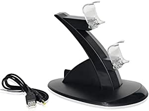 Dual Ps Vita Controller Docking With Usb Led Charging Function Dock Station Controller Stand For PS4