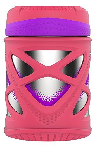 Zulu Fuel Stainless Steel Food Jar, Pink, 10