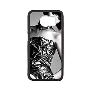 beauty girl singer rihannawide Samsung Galaxy S6 Cell Phone Case Black 53Go-483168