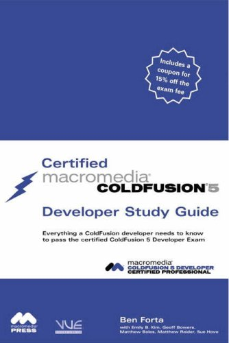 Certified Macromedia ColdFusion 5 Developer Study Guide by Brand: Pearson Education