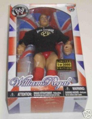 (WWE Jakks Pacific UK Exclusive Action Figure William Regal)