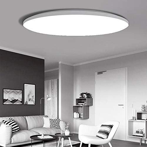 Qyyru LED Interior Exterior Redondo Circular Incrustado ultrafino ...