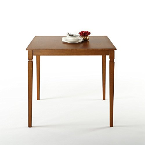 Zinus Drury Counter Height  Square Wood Dining Table / Table - Counter 39 Inch