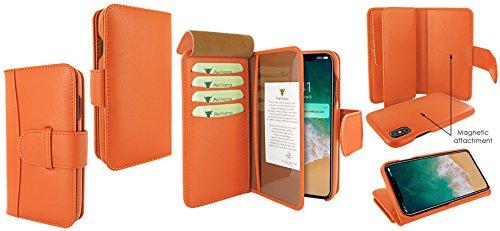 Piel Frama 793 Orange WalletMagnum Leather Case for Apple iPhone X by Piel Frama (Image #6)