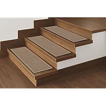 Clear Stair Treads Carpet Protectors Set Of 2 Staircase