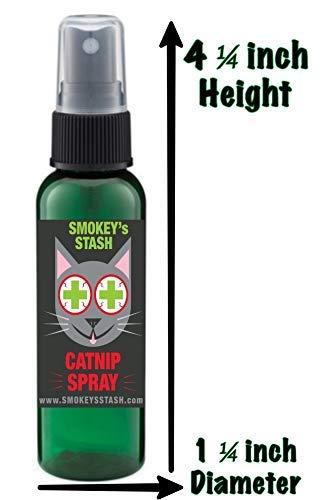 CatNip for Cats Smokey's Stash Catnip Spray for Cats from 2 Ounce Fresh Premium Maximum... [tag]