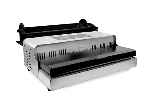LEM Products 1088B MaxVac 1000 Vacuum Sealer with Bag Holder & Cutter, Grey