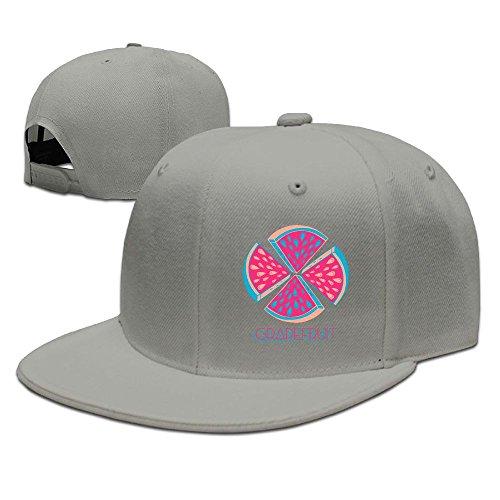 JOIAREGN Grapefruit Funny Art Unisex Snapback Hats Cool Unisex Caps - Price Dries Van Noten
