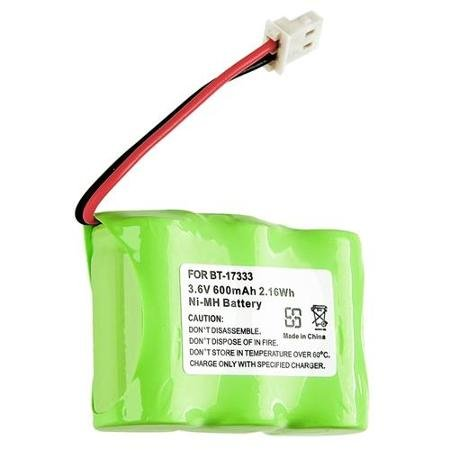 VTech BT-27333 Battery - Replacement Battery for VTech Cordless Phone (600mAh, 3.6V, NI-MH) (Olympia Telephone)