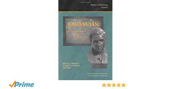 Essays With Thesis Statements Ramanujan Essays And Surveys History Of Mathematics V  Bruce C  Berndt Robert A Rankin  Amazoncom Books In An Essay What Is A Thesis Statement also English Essay Friendship Ramanujan Essays And Surveys History Of Mathematics V  Bruce  Essay Thesis Statement