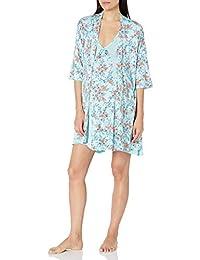 Everly Grey Womens Maternity Dawn and Nursing Chemise 4 Piece Pajama Set Nursing Pajama Set