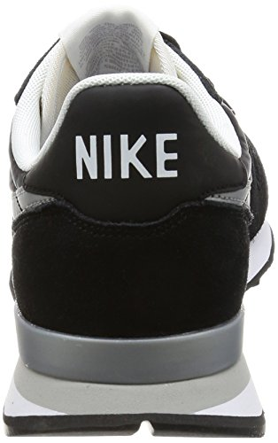 Silver Homme Noir Flat Internationalist White Nike Baskets Silver Black Metallic wvZ60x