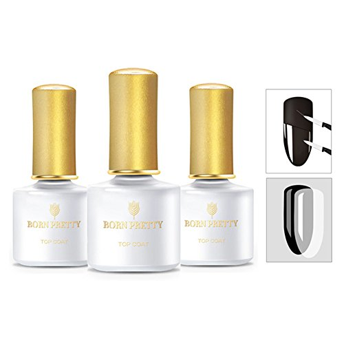 BORN PRETTY Tempered Enhance Base Coat and Top Coat, Matte T