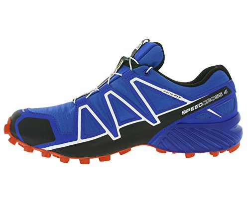 Salomon Speedcross 4, Scarpe da Trail Running Uomo Blue