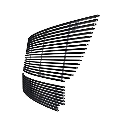 06 Ford Expedition Billet Grille - Off Roader Black Stainless Steel eGrille Billet Grille Grill for 2003-2006 Ford Expedition Combo