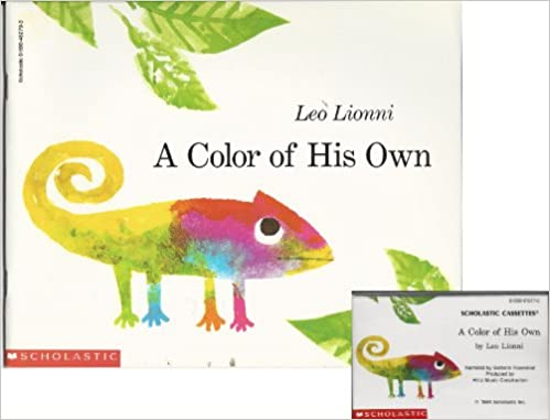 A Color of His Own Book and Audiocassette Tape Set (Paperback Book ...