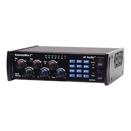 JK Audio RemoteMix 2 Broadcast Field Mixer, 2x XLR Mic Jacks & 1/4