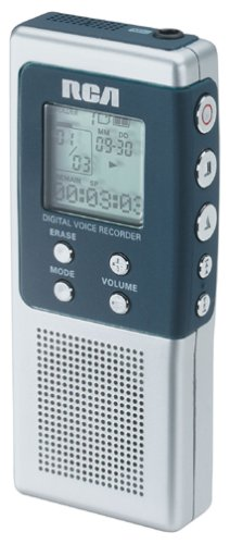RCA RP5010 Digital Voice Recorder product image