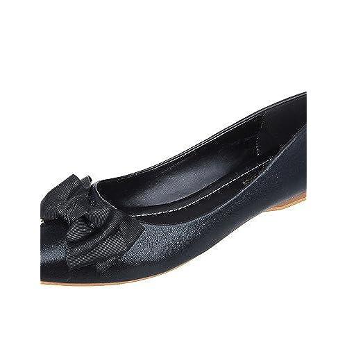 Pointubout Fermé Talon Plat Bout Chaussures Pdxfemme QdWCerxBo