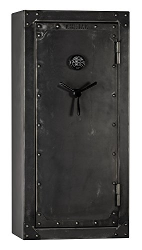 (Kodiak Strong Box KSB5928EX-SO Gun Safe by Rhino Metals, 485 lbs, 60 Minute Fire Protection, Patented Swing Out Gun Rack, Electronic Lock and Bonus Deluxe Door)
