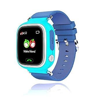 Leotec Smartwatch Unisex Niños de Digital con Correa en Caucho LESWKIDS02B1
