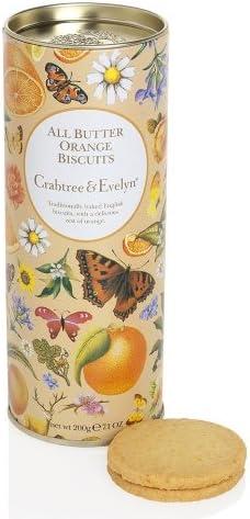Galletas Crabtree&Evelyn All Butter Orange Biscuits Caja metálica ...