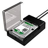 Sabrent USB 3.0 to SATA External Hard Drive Lay-Flat Docking Station for 2.5 or 3.5in HDD, SSD [Support UASP] (EC-DFLT)